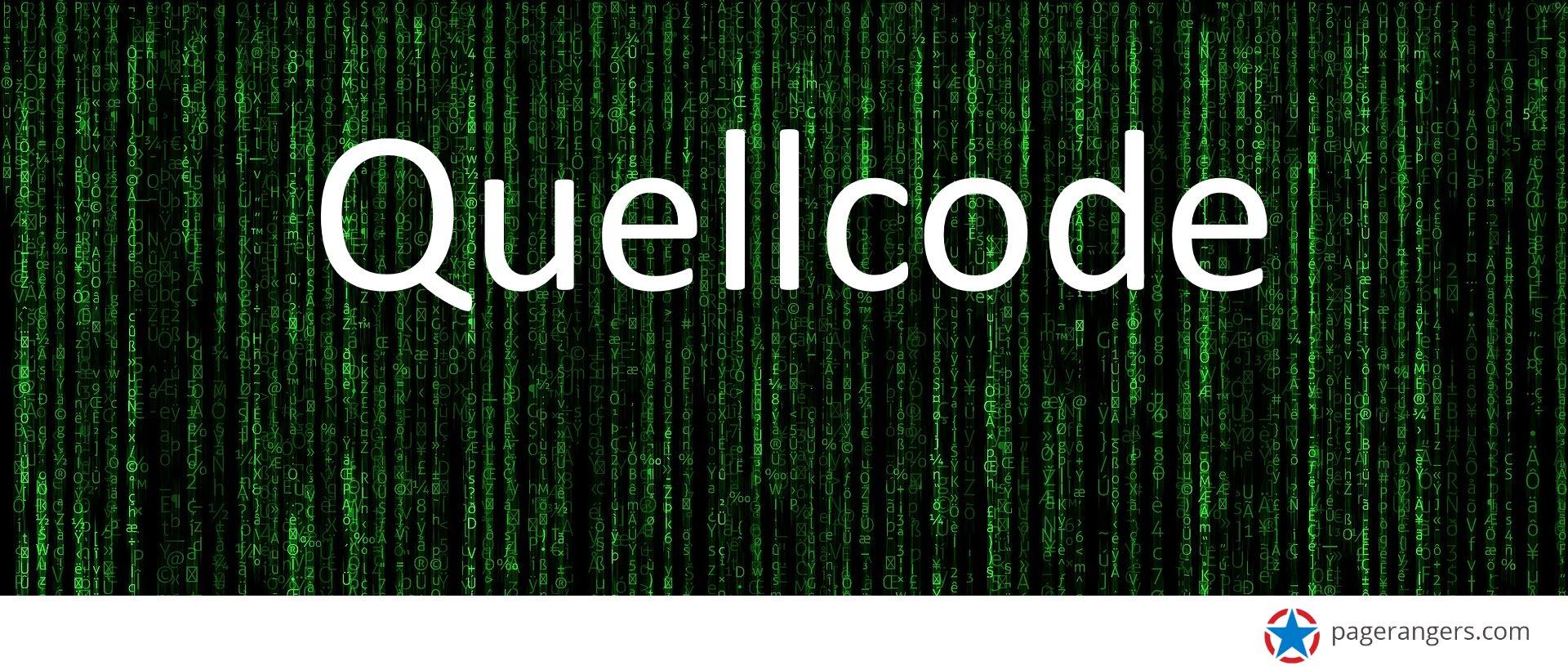 Quellcode - Definition - Erklärung des Quelltext und seiner Bedeutung für SEO