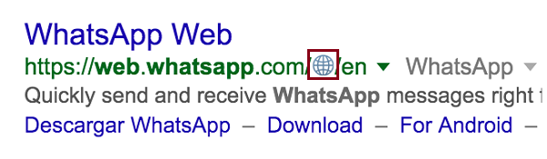 Google zeigt wieder Iconsin den SERPs an