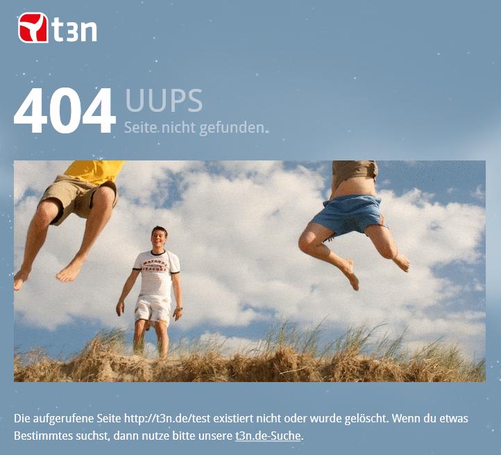 Quelle: t3n.de, Statuscode Fehler 404